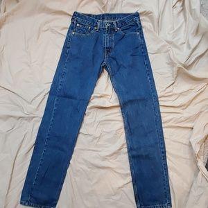 Levi's 505 Jean's size 30x34
